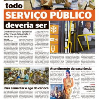 O Globo 2019-12-01Reportagem positiva Ideal