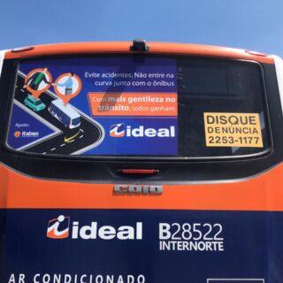 busdoor instalado_campanha educação para o trânsito 2